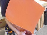 Raw Silicone Heat Mat Material
