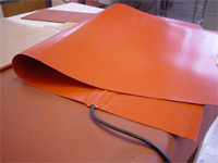 Folded Electric Silicone Heat Blanket