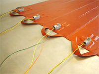 Optional Silicone Heat Blanket Terminals