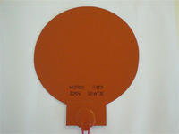 Round Silicone Heat Blankets in Various Sizes